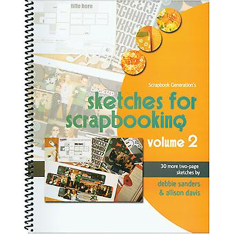Scrapbook Generation Sketches For Scrapbooking Volume 2 Sg Sv2