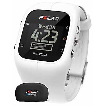 Polar Unisex A300 Activity Tracker (White with HR) 90054235 Watch