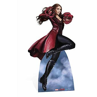 Scarlet Witch Marvel Lifesize Cardboard Cutout / Standee / Stand Up