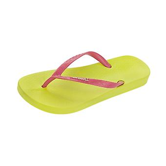 Ipanema Tropical Womens Flip Flops / Sandals - Lime Pink