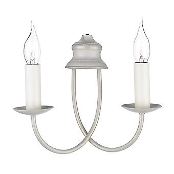 Dar Bermuda BE29 Traditional Wall Lights Double