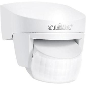 Wall, Surface-mount PIR motion detector Steinel 608910 Relay White IP54
