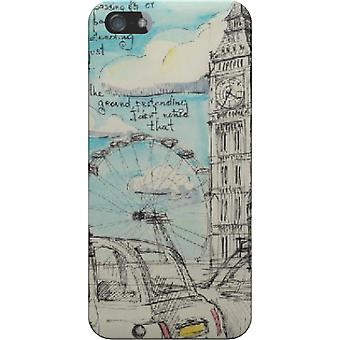 Cape London pencil drawing for iPhone 5S/SE