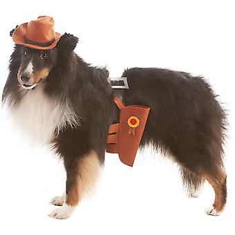 Cowboy Dog Costume-Extra Small/Small 103593