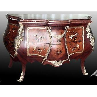 baroque chest of drawers antique style rococo MoBdNoLu07623