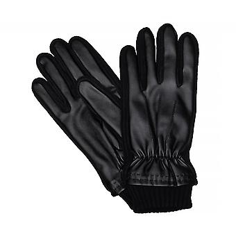 Type of Shaper gloves men's gloves leather gloves, winter Gloves black 3360