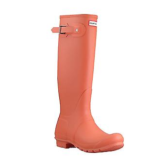 HUNTER Womens original tall boot women's rubber boots red WFT1000RMA