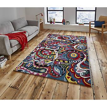 Sunrise Y583A Rectangle tapis tapis Funky