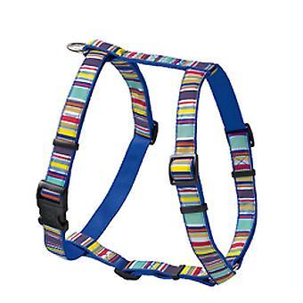 Hunter Ecco Sport Stripes divertimento Vario Rapid Nylon imbracatura blu 10 mm X 25-41 cm