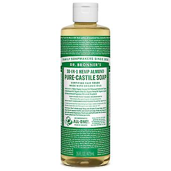 Dr Bronner's Almond Pure-Castile Soap Liquid