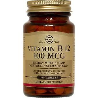 Solgar Vitamin B12 100 mcg 100 Tablets (Vitamins & supplements , Vitamins)