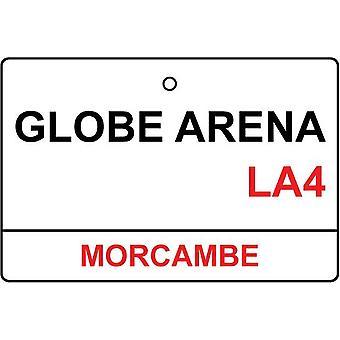 Morecambe / Globe Arena rua sinal refrogerador de ar de carro