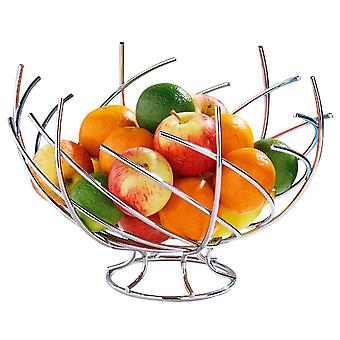 Fruit Basket Chrome Nest Forme Fruit Bowl