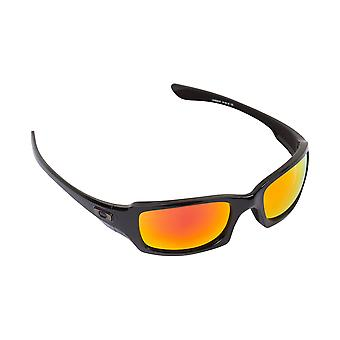 New SEEK Replacement Lenses for Oakley Sunglasses FIVES SQUARED Red Mirror