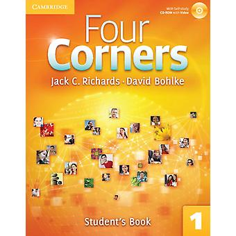Four Corners Level 1 Full Contact with Self-study CD-ROM: Four Corners Level 1 Student's Book with Self-study CD-ROM (CD-ROM) by Richards Jack C. Bohlke David