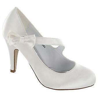 Ladies Anne Michelle Wedding Court Shoe - L2995
