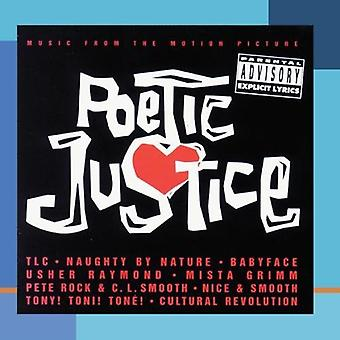 Various Artists - Poetic Justice [CD] USA import