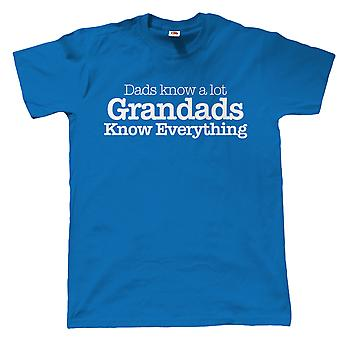 Grandads Know Everything, Mens Funny T Shirt