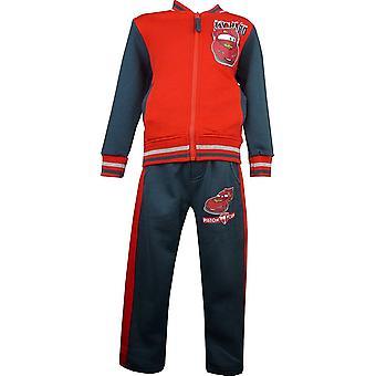 男の子ディズニー Carsning マックイーン トラック スーツ ジョギング スーツ HO1566