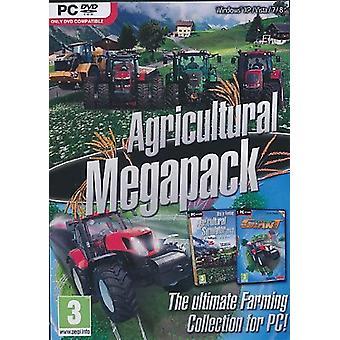 لعبة دي في دي الزراعية الضخمة حزمة جهاز الكمبيوتر