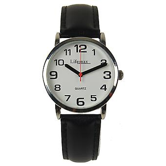 Clear Time Watch - Gents Leather Strap