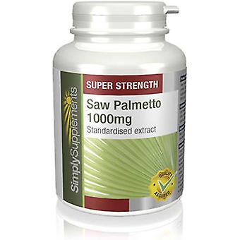 Saw-palmetto-1000mg - 120 Tablets