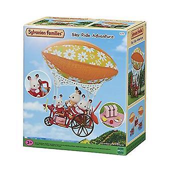 Sylvanian familier Sky Ride Adventure sæt Kids legetøj