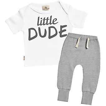 Spoilt Rotten Little Dude T-Shirt & Joggers Outfit Set