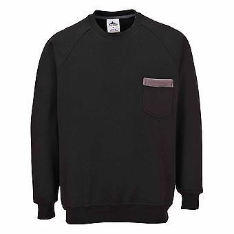 Portwest - Texo Classic Workwear Stylish Uniform Comfort Contrast Sweater