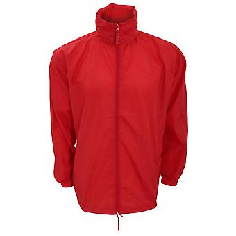 Kariban Mens Casual Windbreaker Jacket