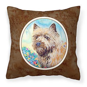 Carolines Treasures  7238PW1414 Cairn Terrier Fabric Decorative Pillow