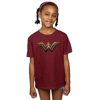 DC Comics Girls Justice League Film Wonder Woman Emblem T-Shirt