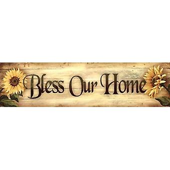 Bless Our Home Poster Print by Ed Wargo (30 x 8)