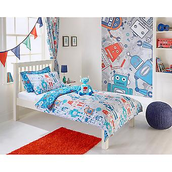 Riva Home Robot Childrens/Kids Duvet Set