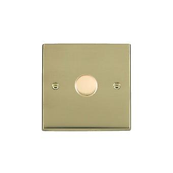 Hamilton Litestat Cheriton Victorian Polished Brass 1g 250W Multi-Way Dim PB