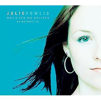 Julie Fowlis - Mar en Tha Mo Chridhe (som mit hjerte er) [CD] USA import