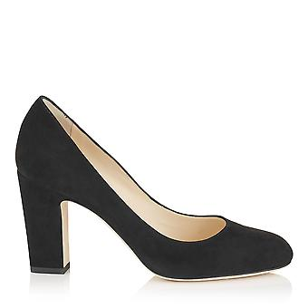 Jimmy Choo women's BILLIE85SUEBLACK Black Suede pumps