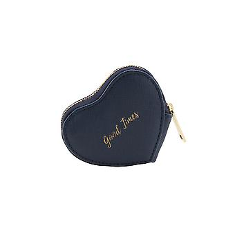 CGB Giftware Willow And Rose Good Times Navy Heart Purse