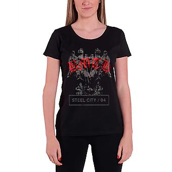Bring Me The Horizon T Shirt Angels band logo Official Womens New Skinny Fit