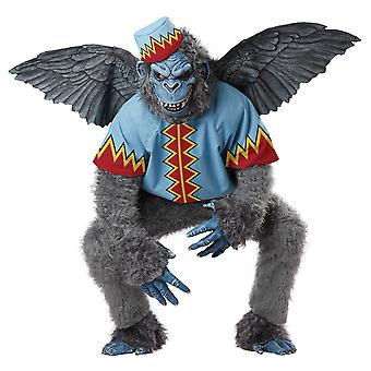 Evil Winged Flying Monkeys The Wizard of Oz Story Book Week Men Costume