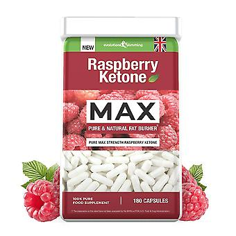 Raspberry Ketone 100mg - 180 Capsules - Value Raspberry Ketone - Evolution Slimming