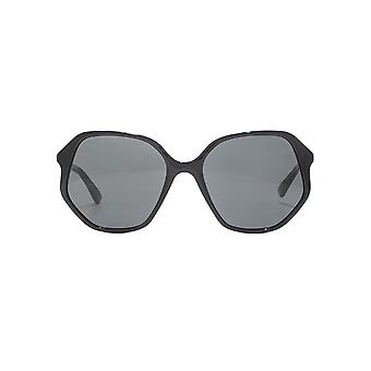 Gucci Retro Geometric Sunglasses In Black
