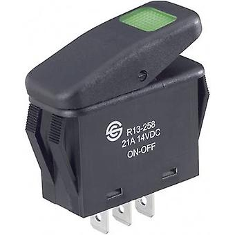 Toggle switch 14 Vdc 21 A 1 x Off/On SCI R13-258B