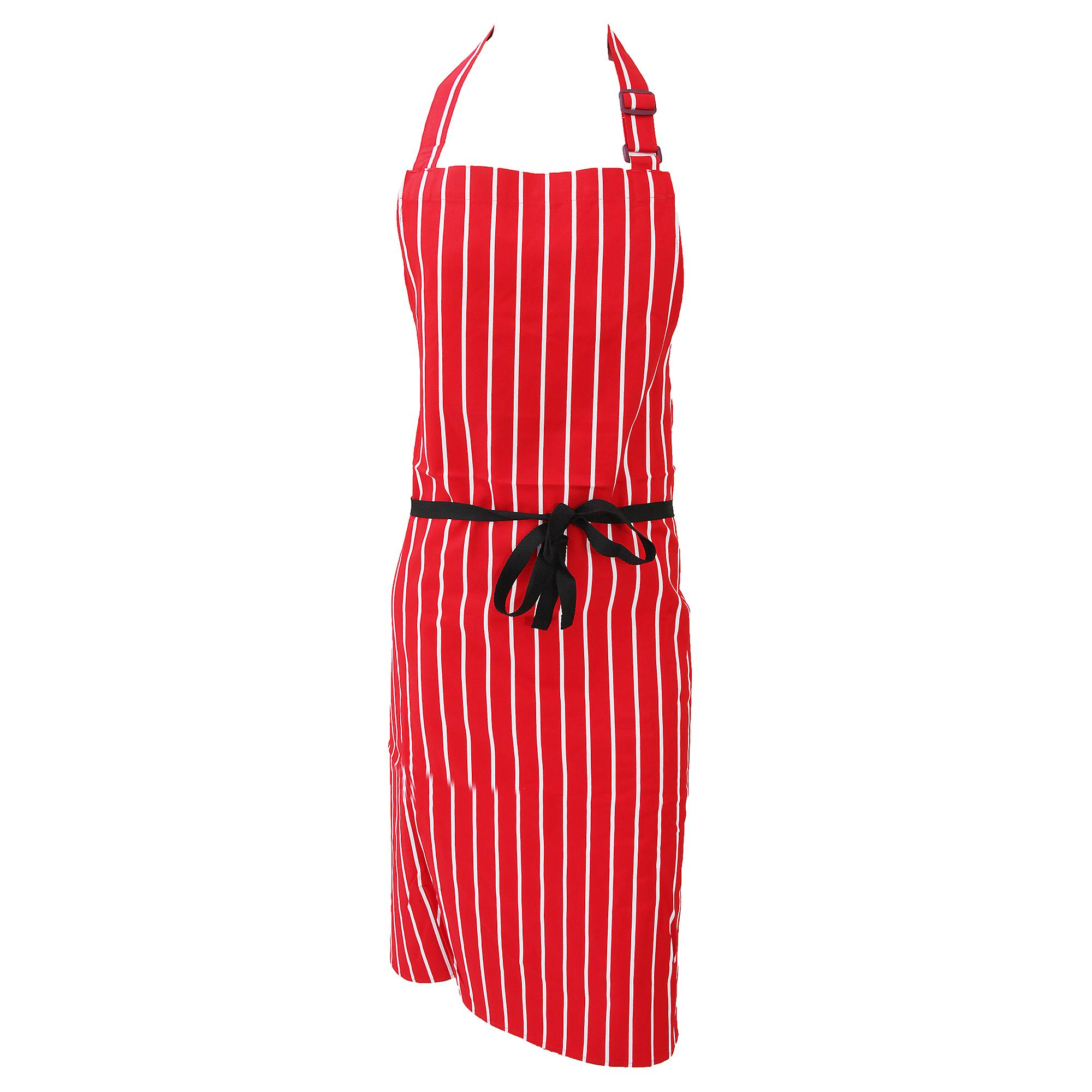 Dennys Unisex Cotton Striped Workwear Butchers Apron