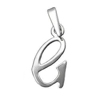 Pendant initiale g silver 925