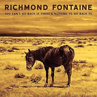 Richmond Fontaine - du kan ikke gå tilbage hvis der er noget at gå tilbage [Vinyl] USA import