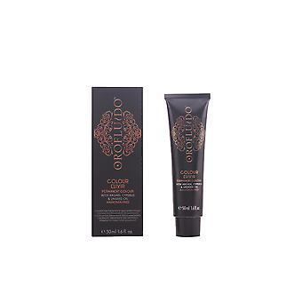 Orofluido Colour Elixir Permanent Colour Brown 50ml Womens Sealed Boxed
