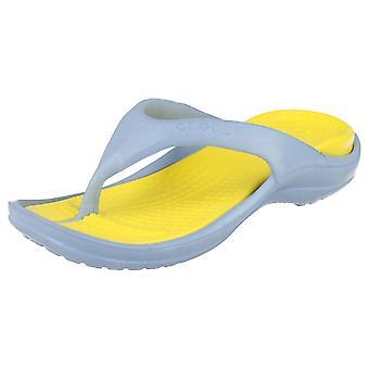 Childrens Unisex Crocs Toe Post Sandals Athens