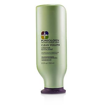 Pureology Clean Volume Conditioner (For Fine Colour-Treated Hair) 250ml/8.5oz