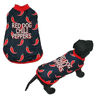 MI&DOG Abrigo Capa Felpado Red Dog T-25 (Dogs , Dog Clothes , Coats and capes)